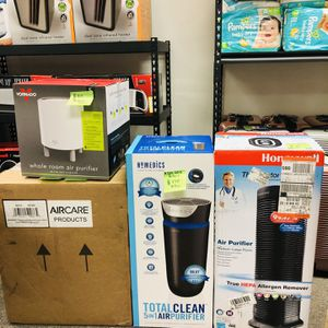 BRAND NEW AIR PURIFIERS !! VONADO .. HOMEDICS..HONEYWELL .. (See Description For Prices) for Sale in Rancho Cucamonga, CA