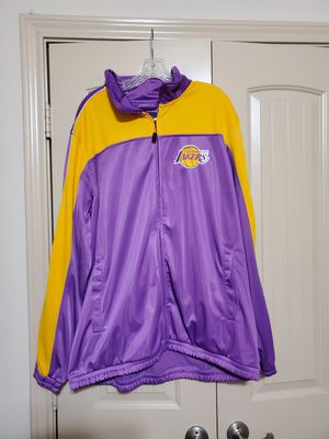 Authentic Los Angeles Lakers Jacket for Sale in Fort Worth, TX
