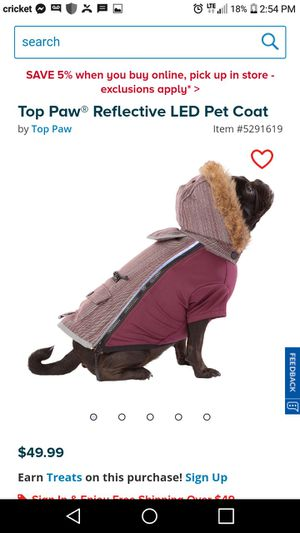 Brand new with tags pet coat for Sale in Eldersville, PA