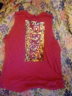 VS PINK bling muscle tank top size medium for Sale in Inwood, WV