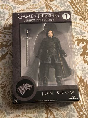 Funko Game of Thrones JON SNOW Action Figure Legacy Collection Series 1 NEW for Sale in Spring Hill, FL