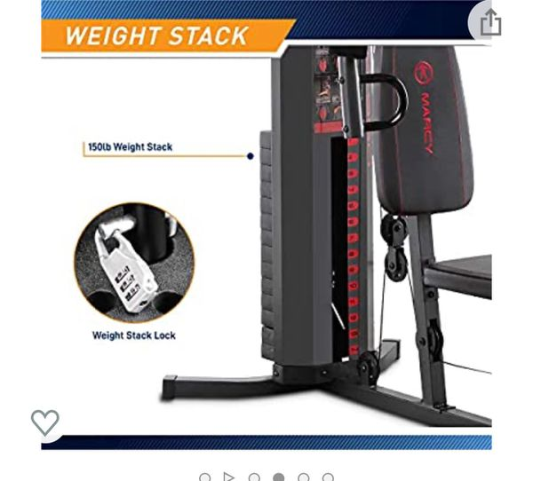 Marcy home gym 150 pounds