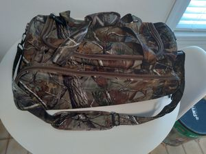 New never used medium sized camo duffle/hunting/sports bag for Sale in Boston, MA
