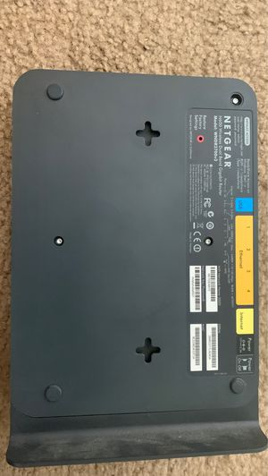 Netgear N600 Wireless Dual Band Gigabit Router for Sale in Pacific Grove, CA