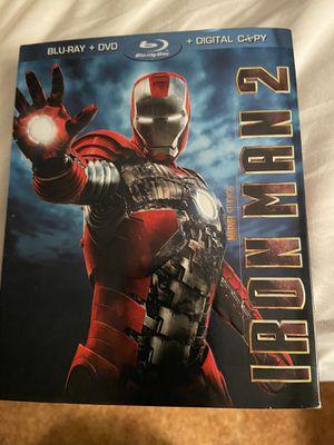 Iron Man 2 (Three-Disc Blu-Ray/Dvd Combo) for Sale in Boston, MA