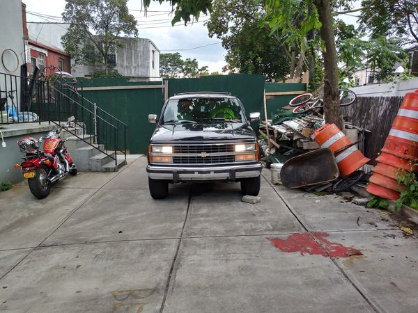 look out for stolen 93 chevy blazer silverado package