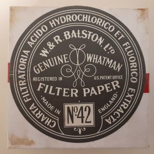 Chemistry Filter Paper Retro 1960s for Sale in Elk Grove, CA