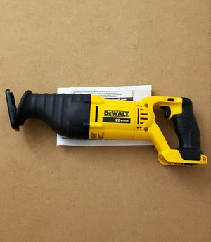 New Dewalt Sawzall ONLY TOOL FIRM PRICE for Sale in Woodbridge, VA