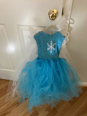 Frozen Elsa dress 4-7 yrs for Sale in Bethesda, MD