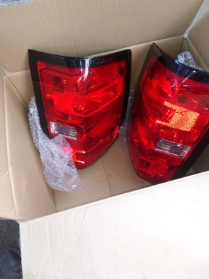 2017 chevy Silverado z71 tail lights with 3rd light for Sale in San Antonio, TX