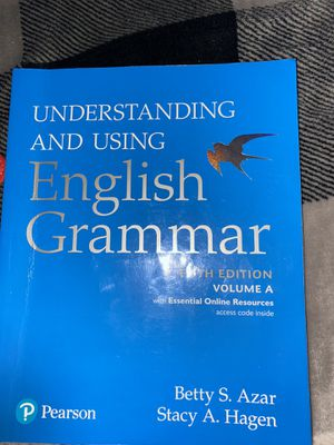 Understanding and using grammar book. ( fifth Edition) Volume A, for Sale in Glendale, CA