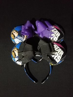 Disney Inspired Star Wars Minnie Ears for Sale in Hialeah, FL