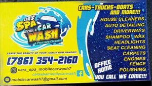 We clean your car or boat.. dania beach, hollywood, hallandale, sunny isles. Fort lauderdale for Sale in Hollywood, FL
