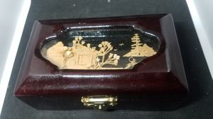 Old wooden jewelry box for Sale in South Plainfield, NJ