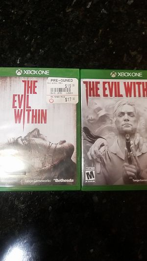 Xbox One Evil Within 1 & 2 for Sale in Menifee, CA
