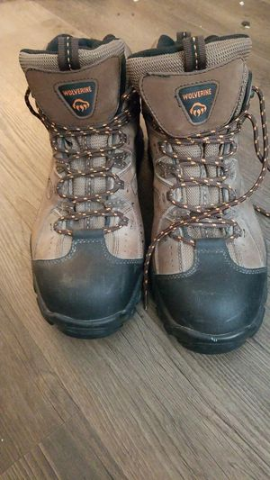 Near new wolverine boots, size 12 for Sale in Salt Lake City, UT