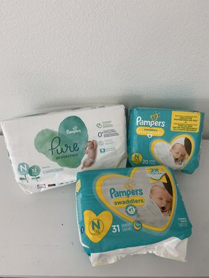 83 Size Newborn Diapers for Sale in Fort Worth, TX