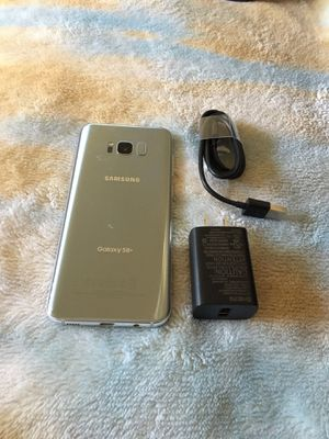 Galaxy S8 plus unlocked for any carrier 64gb $250 firm no trade for Sale in West Sacramento, CA