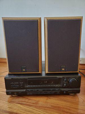 technics stereo receiver & jbl bookshelf speakers for Sale in Santa Ana, CA