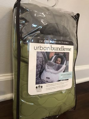 JJ Cole urban BUNDLE ME infant size for Sale in Harwood Heights, IL