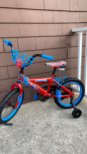 Spider kid's bike size 16 condition good working good for Sale in Everett, MA