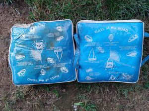 Fishing seat cushions - make offer for Sale in Palmyra, PA
