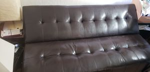 Leather futon for Sale in Cocoa, FL