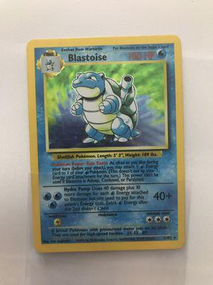 Blastoise Pokemon Card for Sale in Bristol, CT