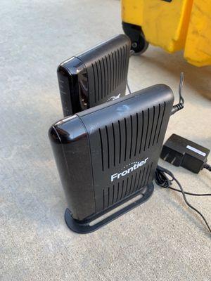 Frontier modem router for Sale in San Bernardino, CA