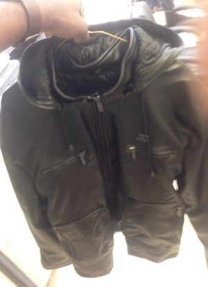 Emporio &a co leather jacket for Sale in Philadelphia, PA