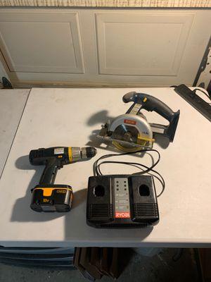 Ryobi tool set for Sale in Peoria, AZ
