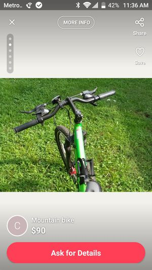 Genesis overkill aluminum mountain bike for Sale in Columbus, OH
