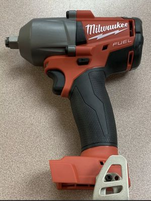 Milwaukee M18 FUEL 18-Volt Lithium-Ion Brushless Cordless Mid Torque 1/2 in. Impact Wrench W/ Friction Ring. Tool-Only. for Sale in Chicago, IL