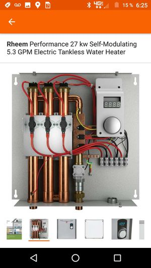 Electric Tankless water Heater for Sale in San Diego, CA