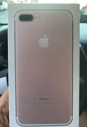IPhone 7 Plus brand new no scratches (MINT) for Sale in San Francisco, CA