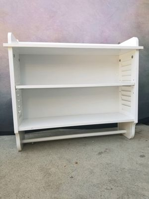 New bathroom wall shelve cabinet with towel bar , brand new for Sale in Fontana, CA