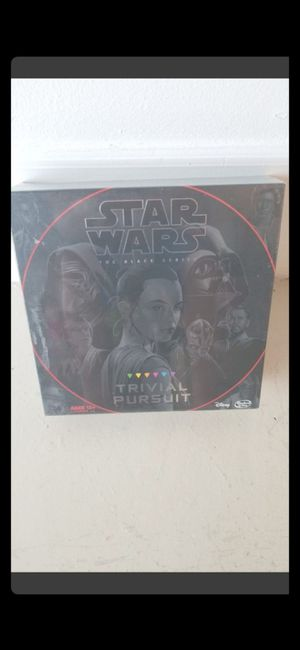 PRICE FIRM! BRAND NEW SEALED STAR WARS TRVIAL PURSUIT for Sale in Delray Beach, FL