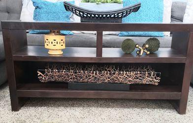 """TV/Coffee Table 49""""× 16.5""""×25"""" tall for Sale in Arvada,  CO"""