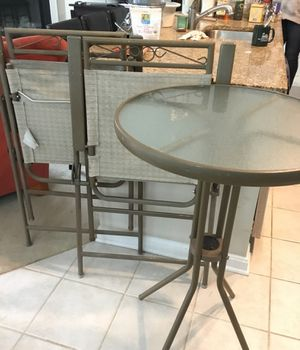 Pub table chairs for Sale in Crofton, MD