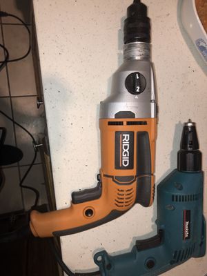 Ridgid and malita drill for Sale in Santa Ana, CA