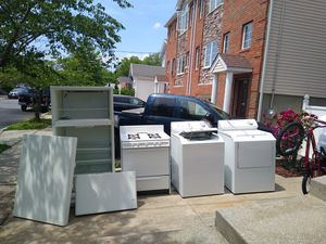Fridge stove washer and Dryer for Sale in Staten Island, NY