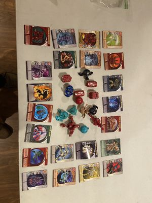Sega toys Bakúgan 22 cards 14 battle dragons for Sale in Salinas, CA