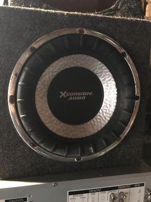 Xcursion Audio Speaker for Sale in Fresno, CA