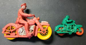 ($45) COLLECTIBLE VINTAGE AUBURN POLICE MOTORCYCLE TOY for Sale in Stockton, CA