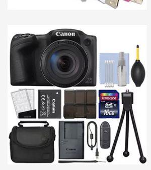 black Canon DSLR camera set for Sale in Miami, FL