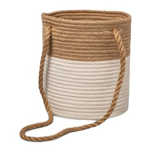 Coiled Rope Hanging Plant Planter Basket New Brown for Sale in Orlando, FL