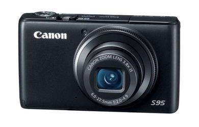 Canon PowerShot S95 10 MP Digital Camera with 3.8x Wide Angle Optical Image Stabilized Zoom and 3.0-Inch LCD for Sale in Fairfax,  VA