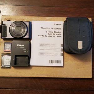 Canon PowerShot SX620 HS digital camera + accessories for Sale in Tulsa, OK