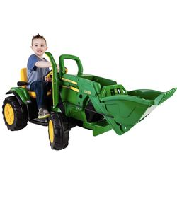 New, Peg Perego 12V John Deere Ground Loader powered ride on for Sale in West Valley City,  UT