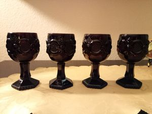 4 Vtg. AVON Small White Wine Goblets for Sale in Lake Forest, CA
